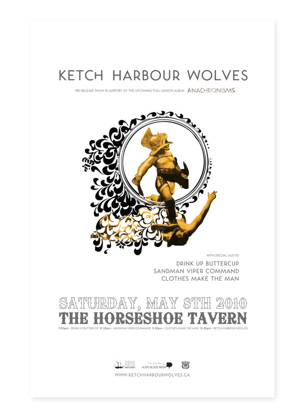 Ketch Harbour Wolves Show Poster