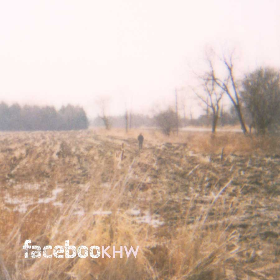 Isolated figure; open field; Ketch Harbour Wolves; Facebook